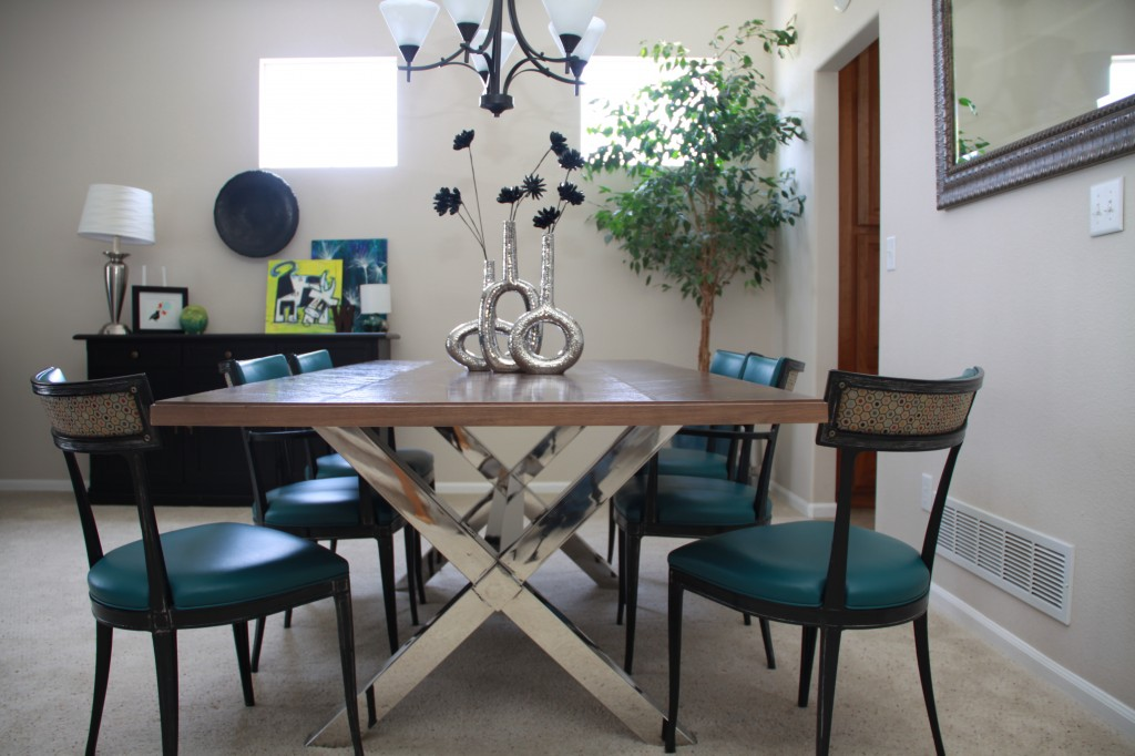 dining room project | repurposed table