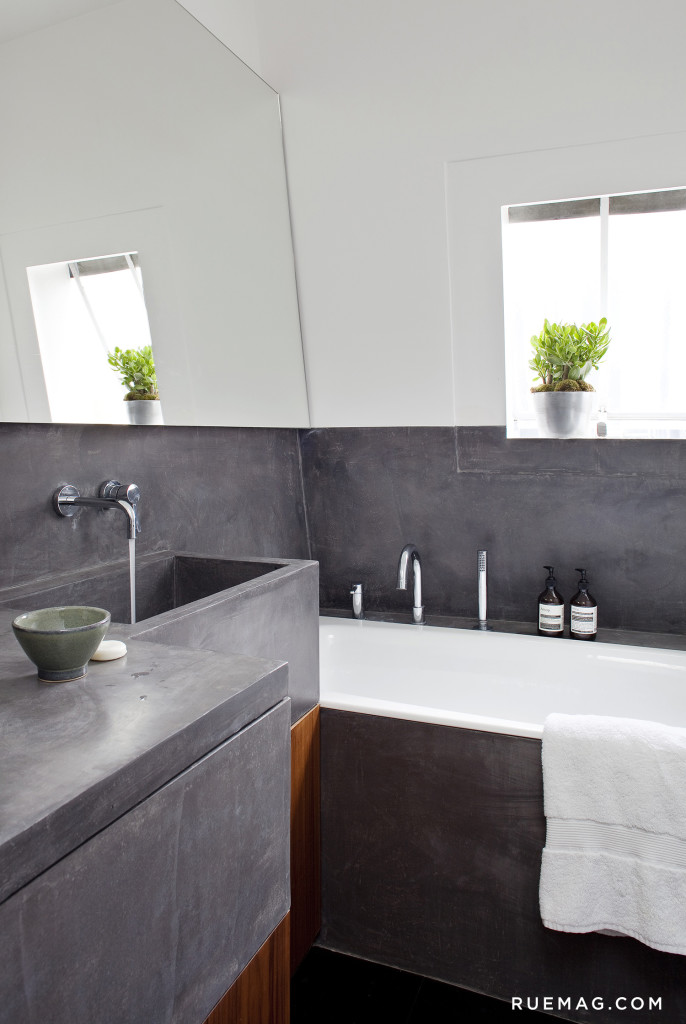 Concrete Bathroom| Love It Or Leave It