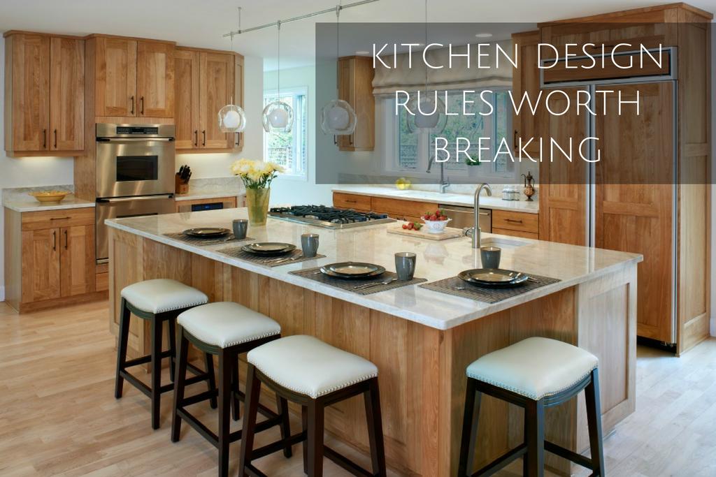 7 Kitchen Design Rules Worth Breaking Denver Interior