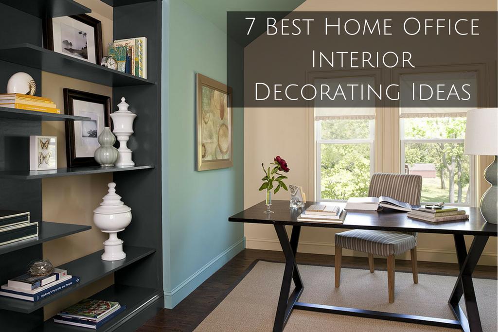 Home Office Interior Decorating Ideas