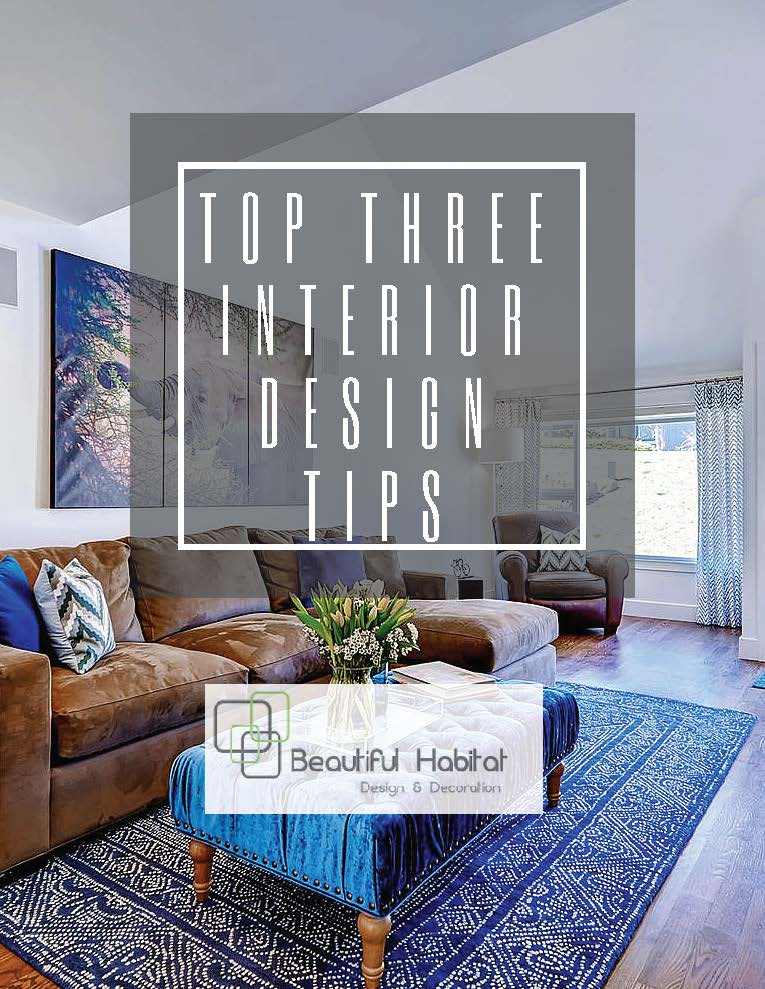 Download my Free E-book today to get tips and tricks to create a polished,  designer look in your home.