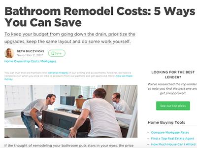 Bathroom Remodel Costs Ways You Can Save Crop Denver Interior - Bathroom remodel denver cost