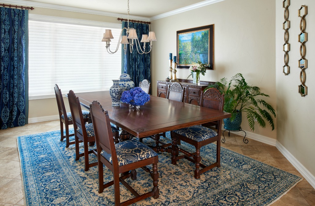boulder county formal dining room denver interior design