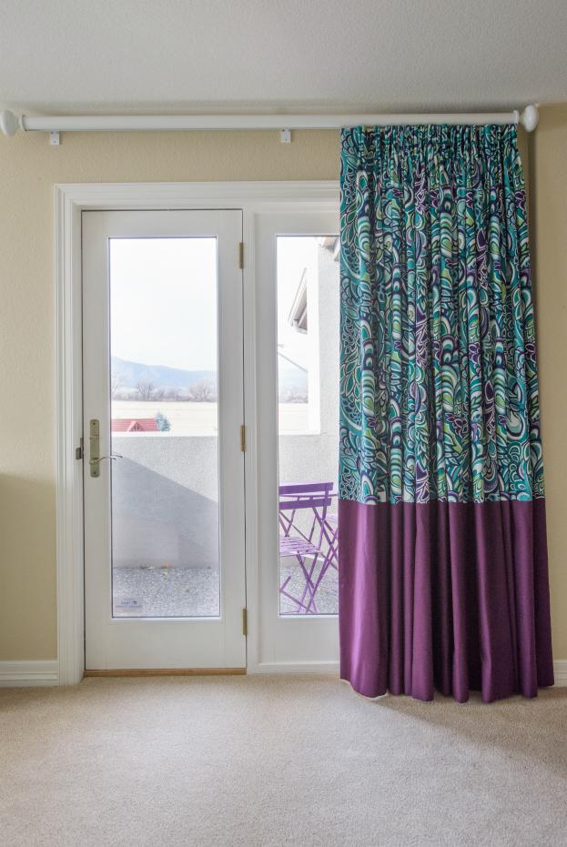 Boulder County Girls Bedroom Custom Window Coverings