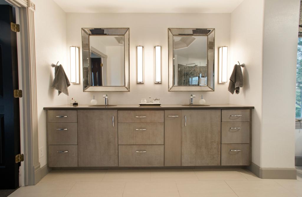 Denver luxury bathroom cabinetry