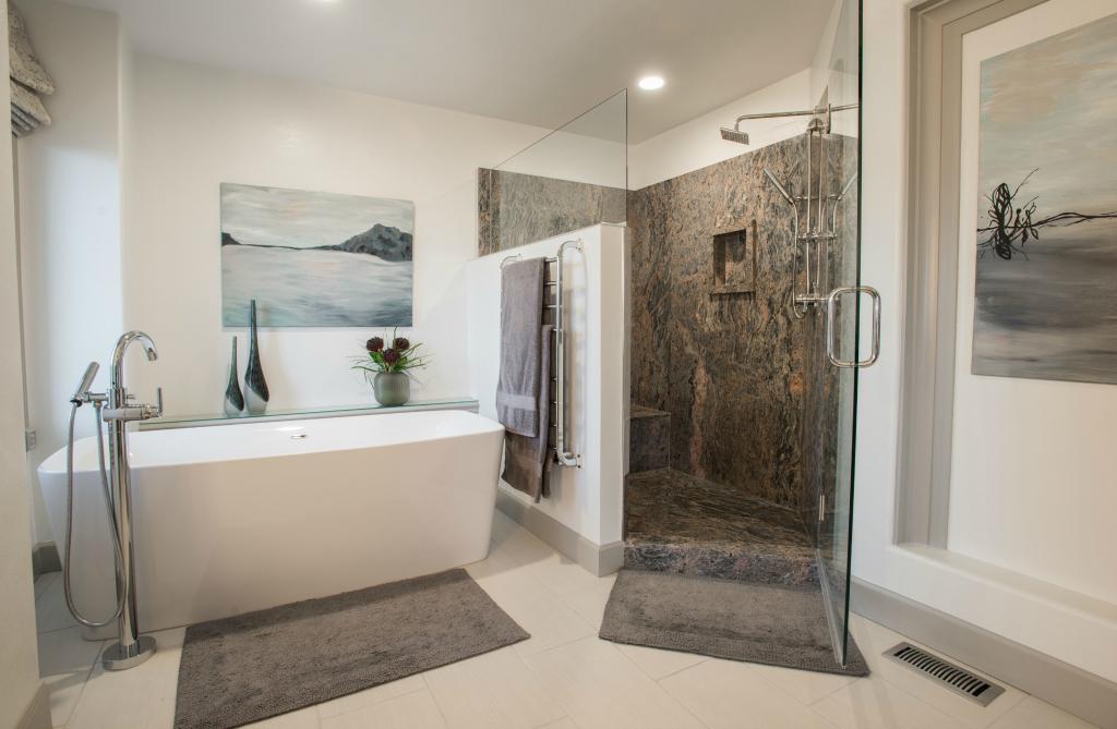 Denver luxury master bathroom