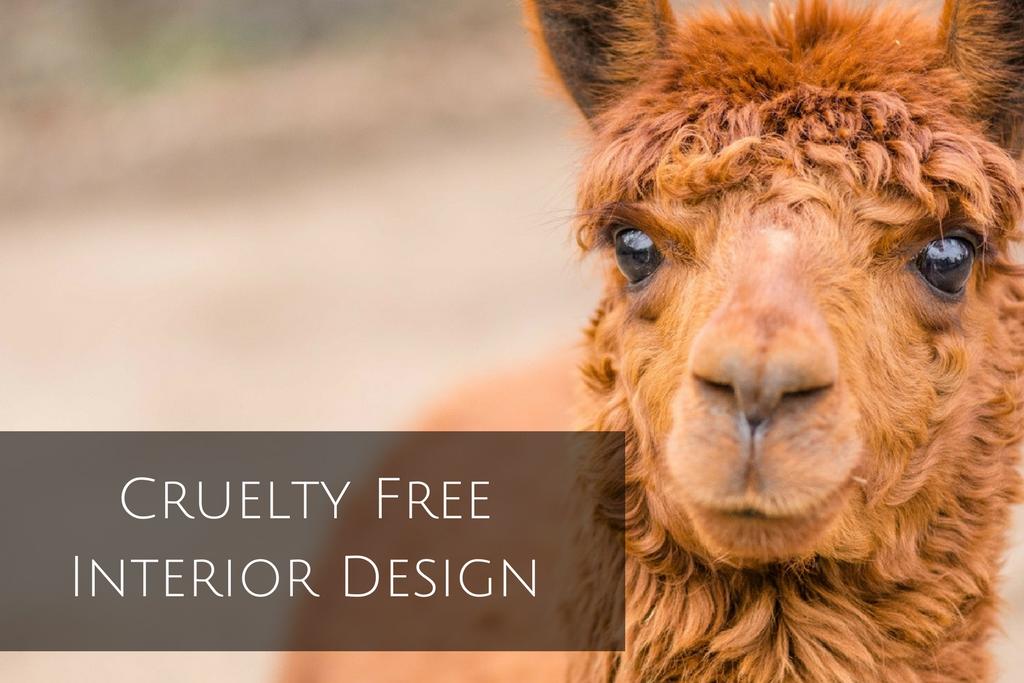 Cruelty Free Interior Design