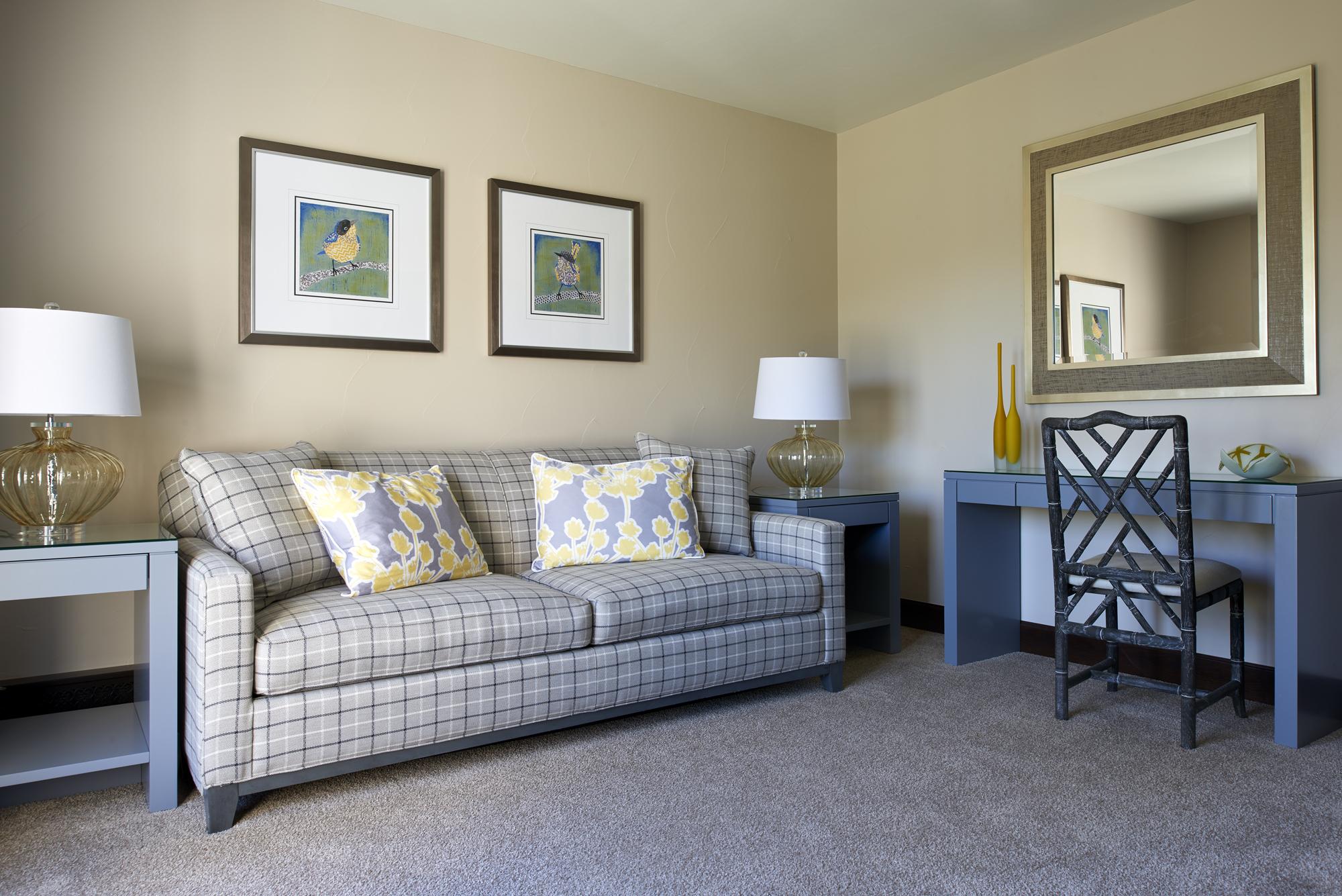 Denver luxury guest bedroom