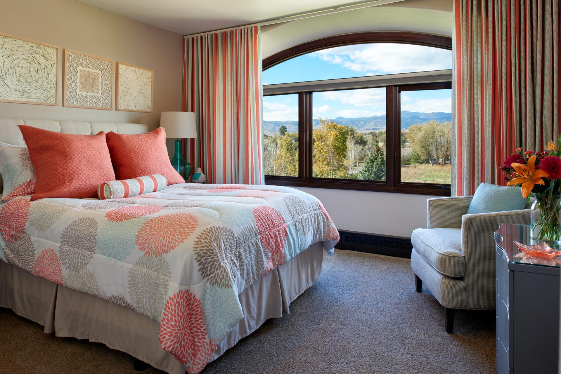 Bedroom Overlooking Field