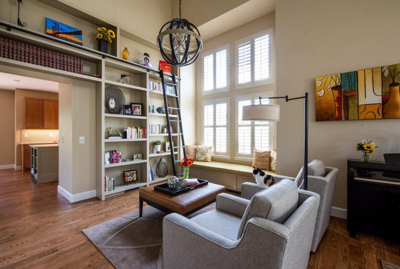 Home Library Interior Design Denver CO