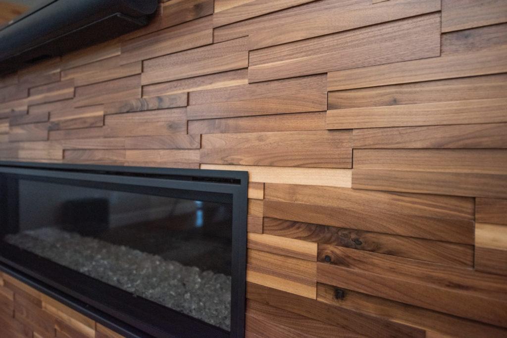 3D Wood wall, Modern Design Denver