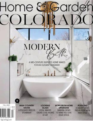 Home & Garden Colorado Magazine Cover