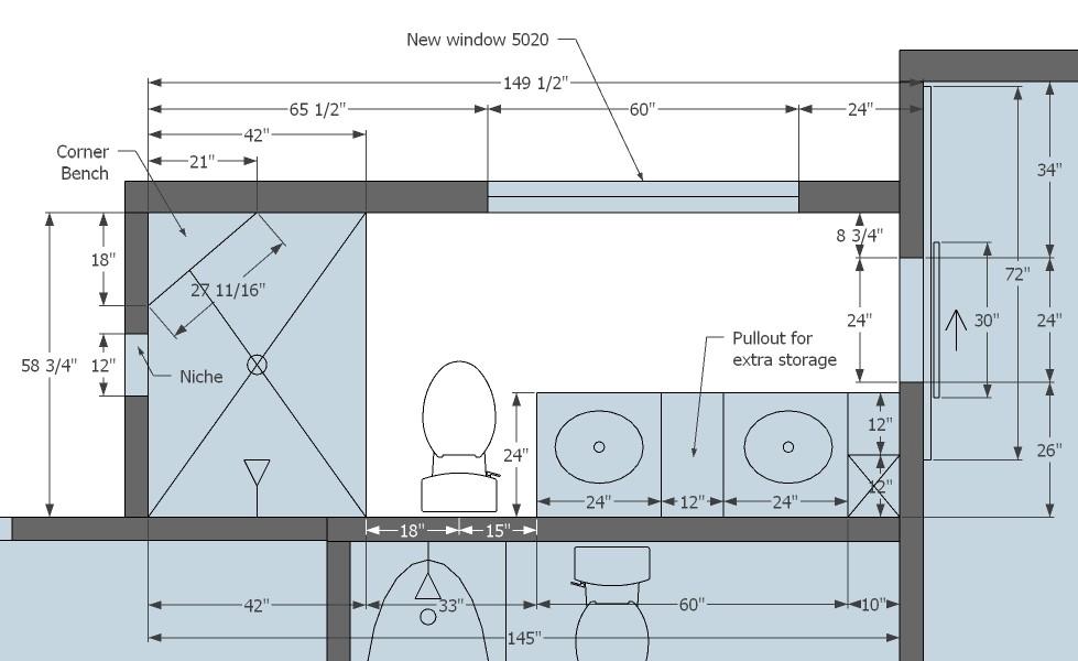 Blueprint for interior design