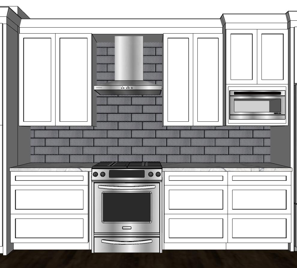 Kitchen blueprint design