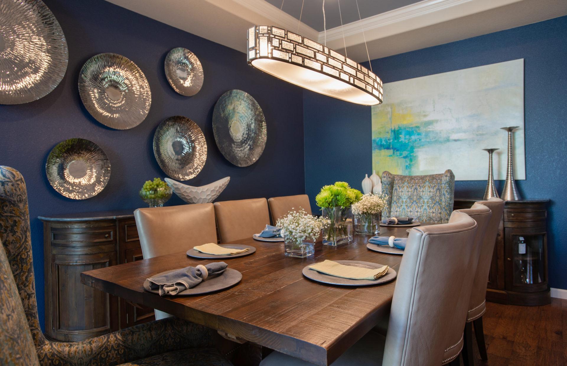 Dining Room Interior Design, Denver CO
