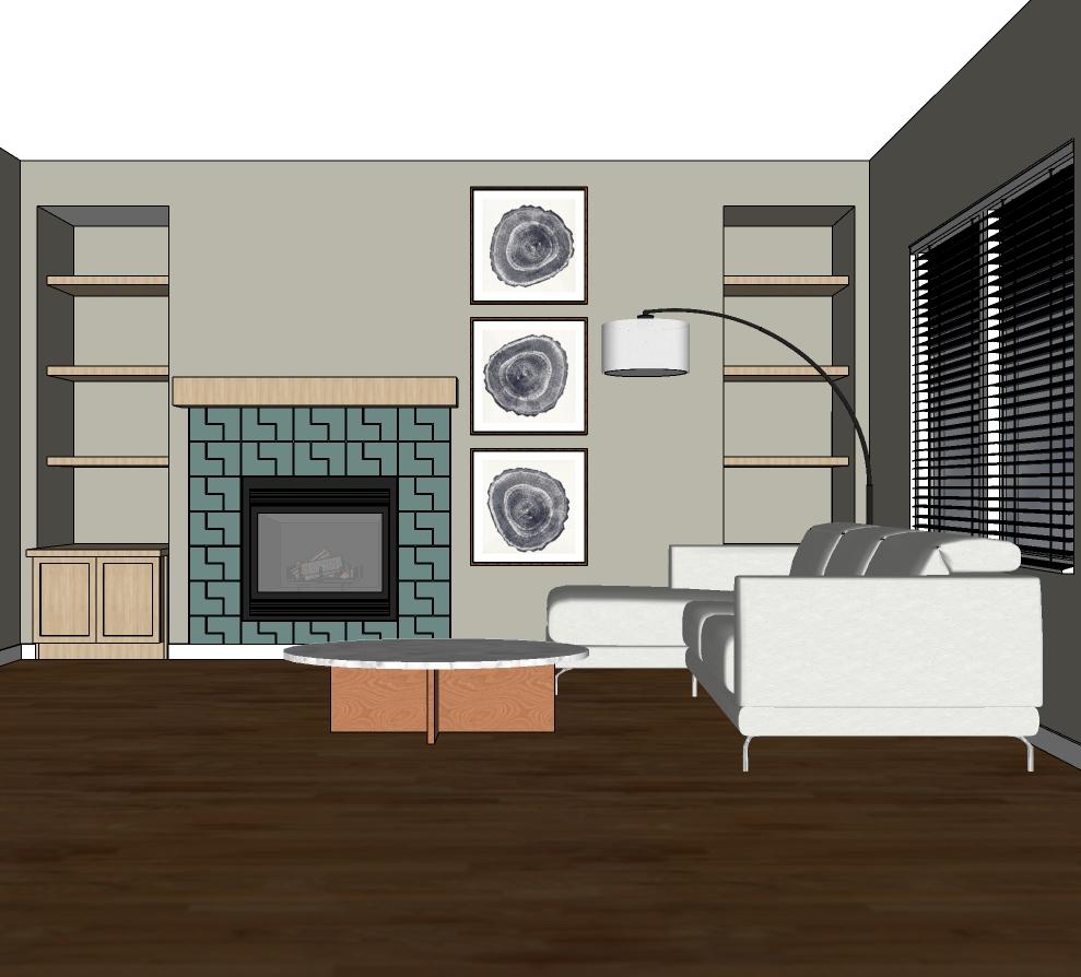 Interior Design 3D models Denver Interior Designer