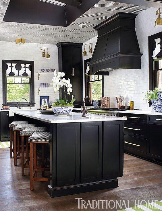 Bold Traditional Kitchen Design Denver Colorado